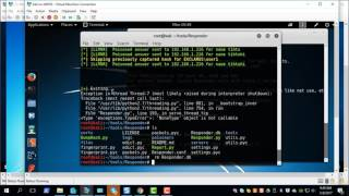 Exploiting Windows Network with Responder and MultiRelay