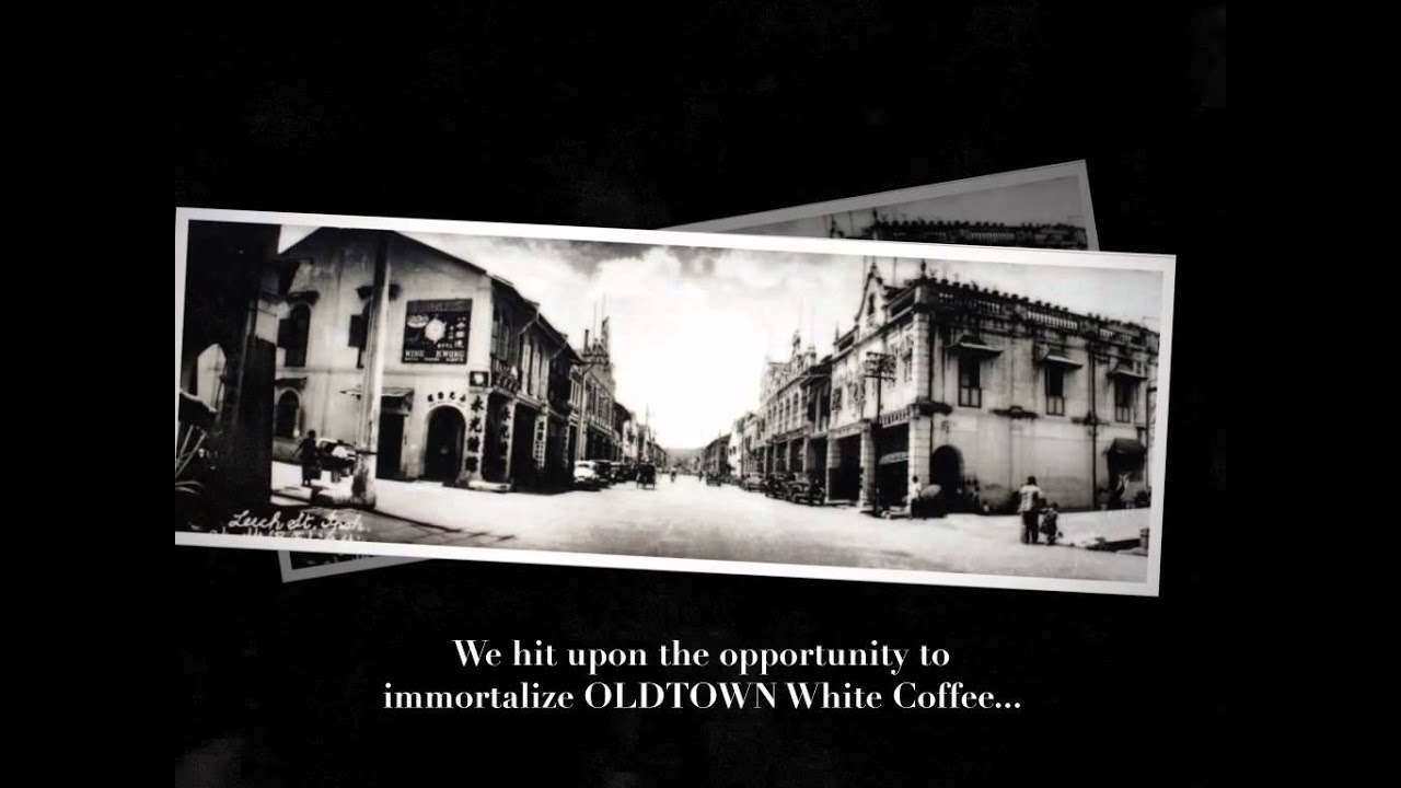 the history of old town white coffee Three opinion leaders were then lined up and flied to the white coffee origin –  old town, ipoh – on a four days trip during the journey, real time.
