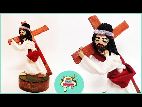 Jesus with cross DIY ideas @ HOLIDAY CARDS FOR christmas   Arush diy craft ideas