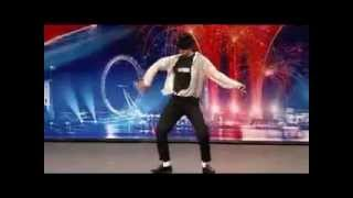 رقص رهيب  في برنامج المواهب مايكل جاكسون + رجل هندي
