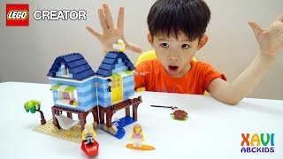 Xavi and LEGO Creator a House