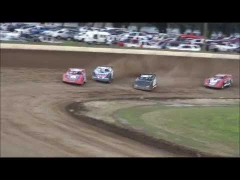 Late Model Heat #1 From Portsmouth Raceway Park, 7/20/13.