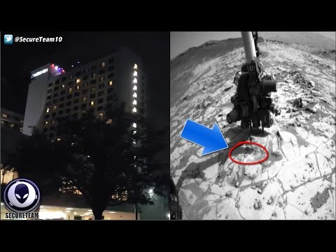 """BIZARRE"" UFO Activity Above NC Hotel! Alien BUGS On Mars? 10/17/16"