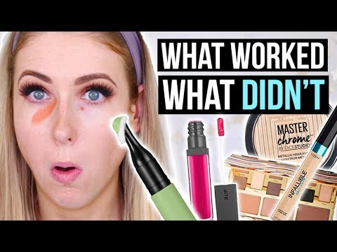 What's NEW at the DRUGSTORE & SEPHORA: Full Face FIRST IMPRESSIONS! || Summer 2017