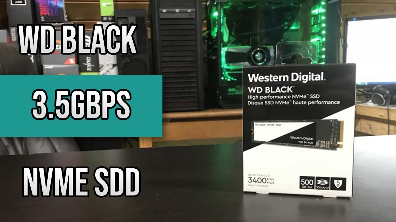Fast Western Digital Black 500gb M 2 3 5gbps Nvme Ssd Review