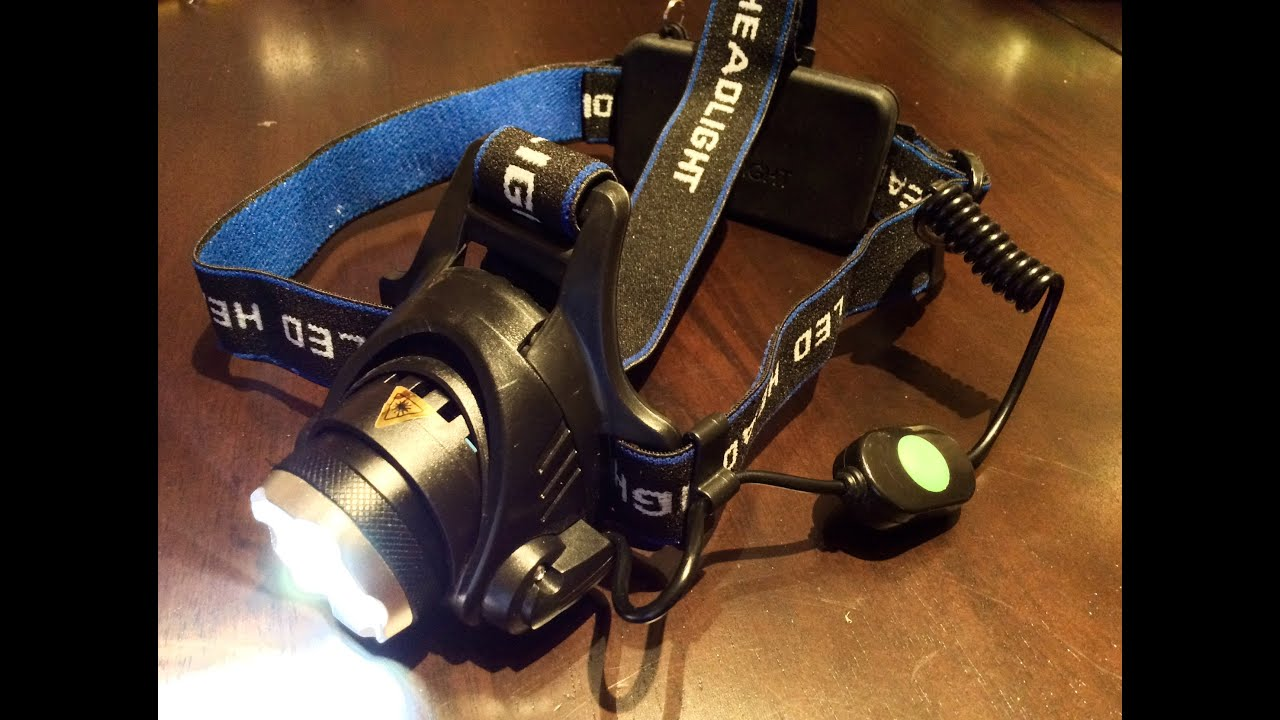 2500lm Zoomable Cree Led Xm L T6 Headlamp Youtube