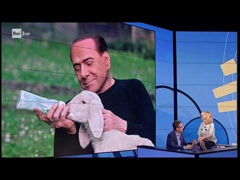 Luciana Littizzetto - Berlusconi vegano? - Che tempo che fa 23/04/2017