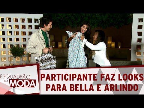 Você não viu na TV: Estilista monta looks para Bella e Arlindo   Esquadrão da Moda (24/06/17)