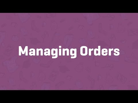 Managing Orders - WooCommerce Guided Tour