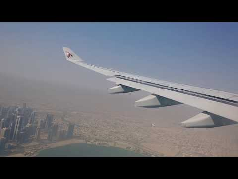 [FHD]complete takeoff with double pushback! Doha