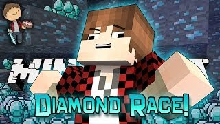 minecraft race for diamonds how to find diamonds lava tower pvp mini game