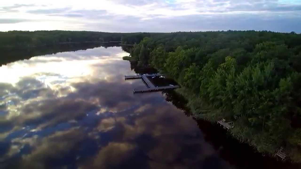Świeże Jezioro w Grabinie z lotu ptaka - YouTube QP61