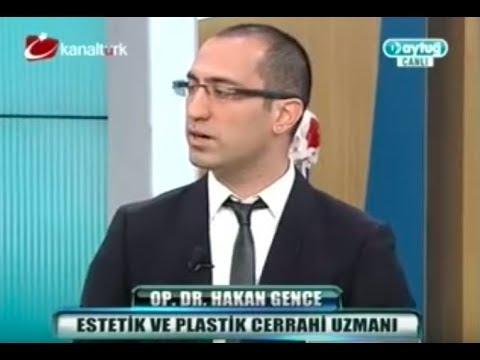 Dr. HAKAN GENCE talking about rhinoplasty. ///Burun Fonksiyonel ve Estetik Cerrahi Uygulamaları
