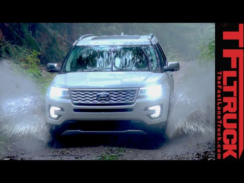 2016 Ford Explorer Off-Road Review: We take the road less traveled