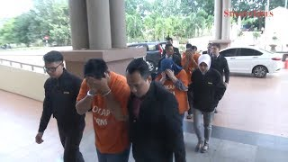 Five remanded in graft probe involving illegal logging in Jerantut