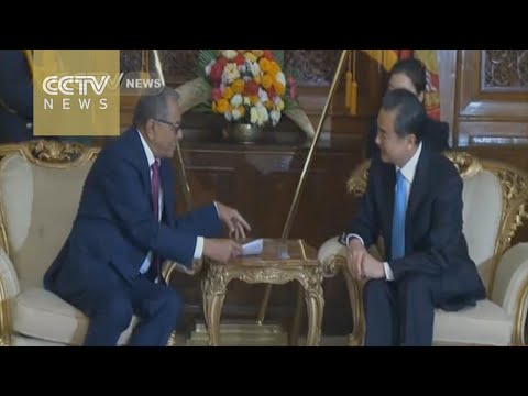 Chinese FM Wang Yi meets Bangladeshi President and PM