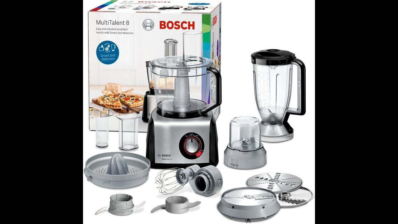Bosch MultiTalent 8 Foodprocessor - MC812M844