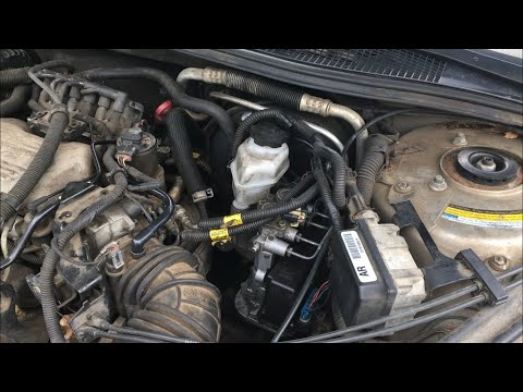 How to – Buick Century 1997 Brake Master Cylinder replacement.