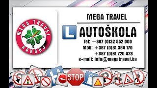 Mega Travel Autoškola Promo Video