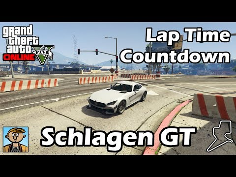 Fastest Sports Cars (Schlagen GT) - GTA 5 Best Fully Upgraded Cars Lap Time Countdown thumbnail