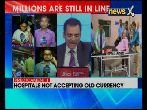 NewsX Ground Report: Hospital not accepting old currency