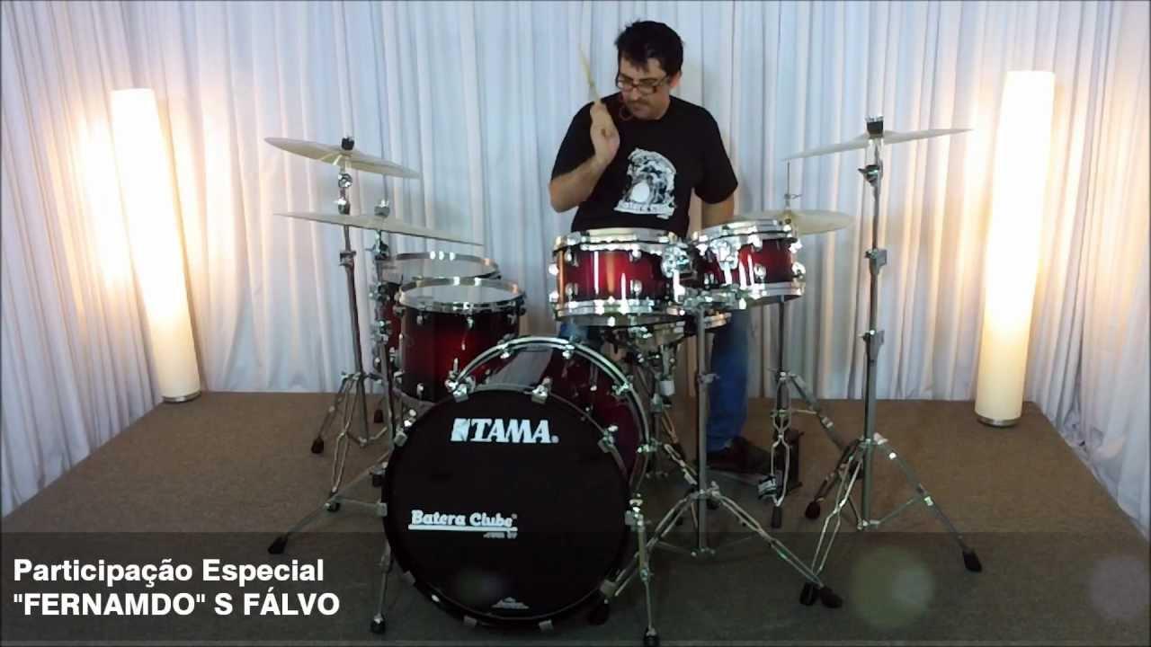 Tama Starclassic Performer Hyper-Drive soundcheck - BATERACLUBE com br
