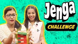 Jenga Challenge | SAMREEN ALI