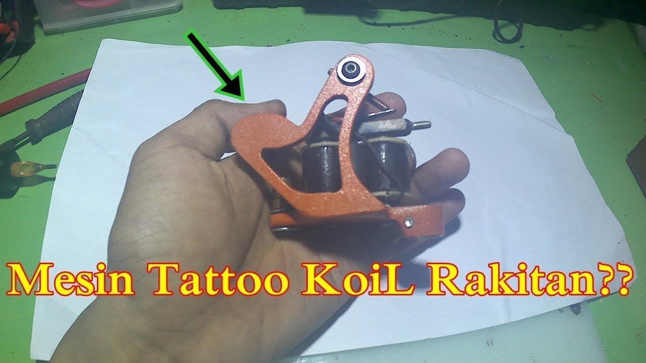 Inilah Cara Membuat Mesin Tattoo Koil Rakitan Youtube