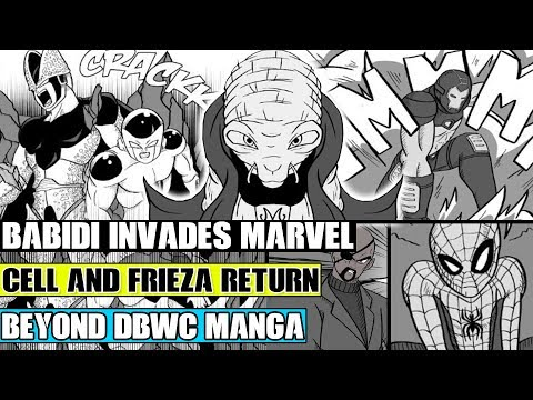 beyond-dragon-ball-super:-babidi-invades-marvel!-perfect-cell-and-frieza-resurrected!-marvel-vs-dbz