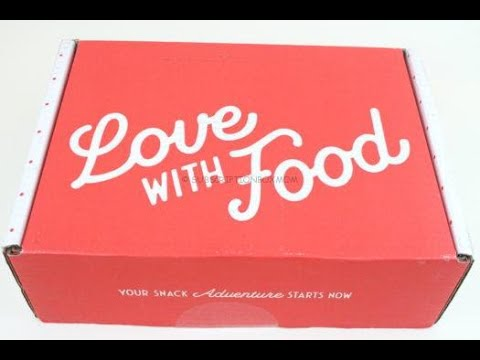 "Love with Food Box August 2019 ""Deluxe"" Unboxing + Coupons #lovewithfood"