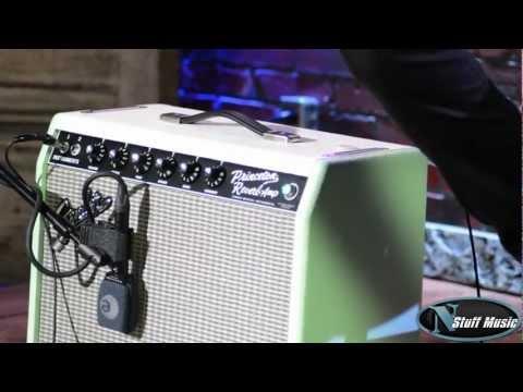 Fender '65 Princeton Reverb FSR Combo Amplifier - Surf Tone Green
