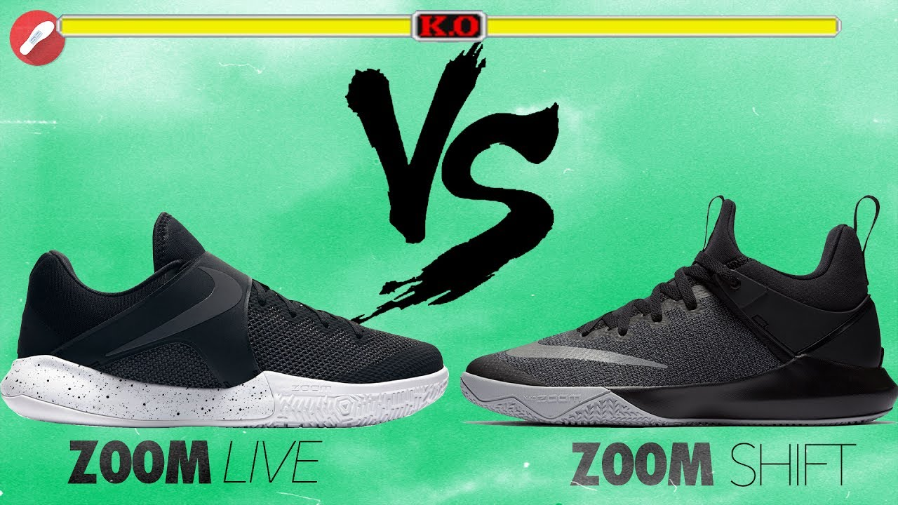 9c484fa79892 Nike Zoom Live vs Zoom Shift!  100 Budget Shoes! - YouTube