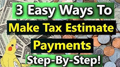 Estimated Tax Payments: How to Make Estimated Tax Payments Online or By Paper)