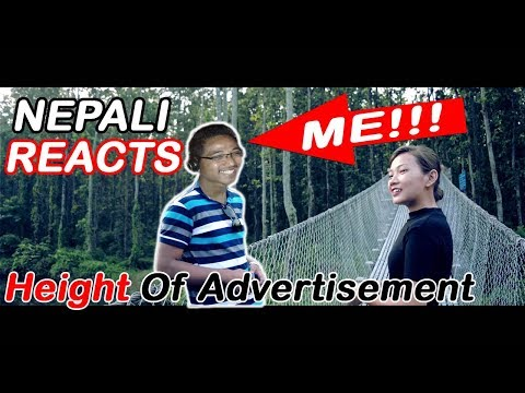 Height Of Advertisement || Nepali Reacts || Sweden Tamang ||