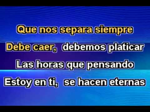 Leo Dan - Esa pared (Karaoke)