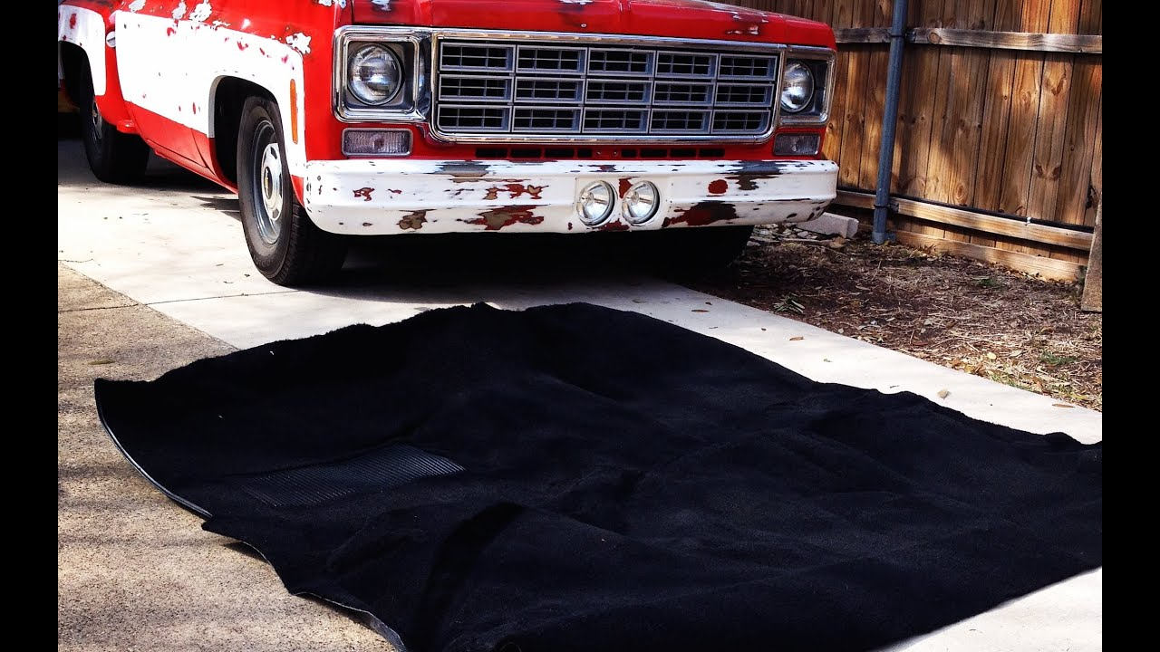Chevy C10 Carpet Install Restoration Update 3 Future Upgrades And Plans Youtube