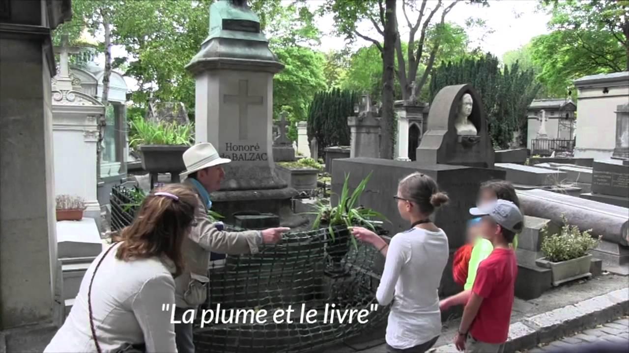Visite insolite au cimetière du Père-Lachaise : la balade nécro-romantique  de Thierry Le Roi