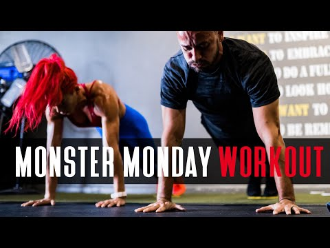 Monster Monday Workout with Hannah Eden