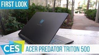 Acer Predator Triton 500 Hands-On zum ultradünnen Gaming-Notebook #CES2019