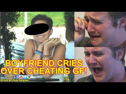 Grown Man Cries because of Cheating Girlfriend! Part 1 | To Catch a Cheater