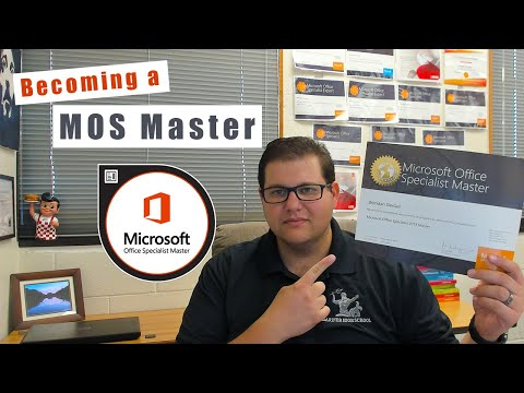 How Do I Earn The MOS Master Certification?