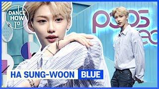 "[Pops in Seoul] Felix's Dance How To! Ha Sung-woon(하성운)'s ""Blue"""