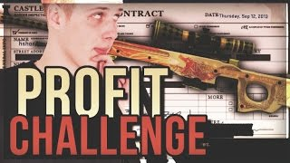 PROFIT CHALLENGE - AWP DRAGON LORE TRADE UP