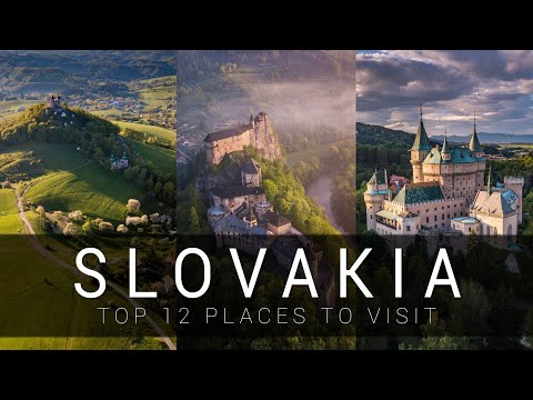 Slovakia - TOP 12 places you MUST SEE | CINEMATIC video