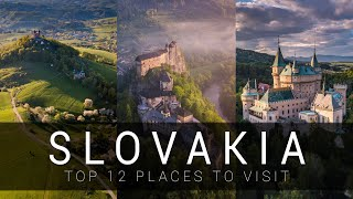 Slovakia - TOP 12 places you need to see | CINEMATIC video