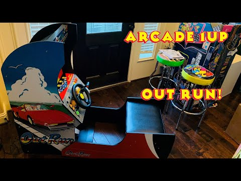 Out Run Arcade1Up Cabinet from MRN Bricks