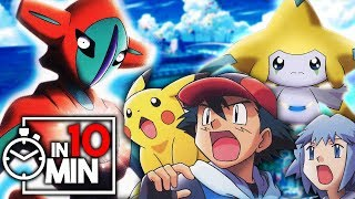 POKEMON FILM 6 & 7 'JIRACHI & DEOXYS' IN 10 MINUTEN