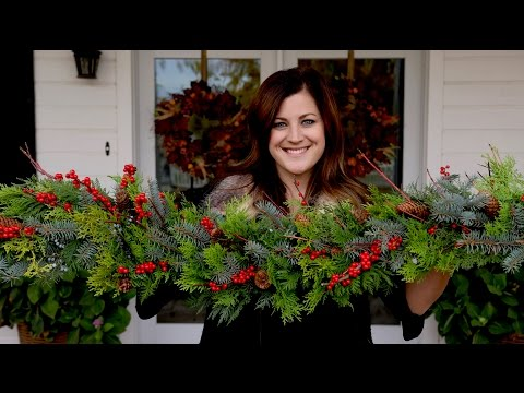 How to Make A Garland (Full Version) // Garden Answer