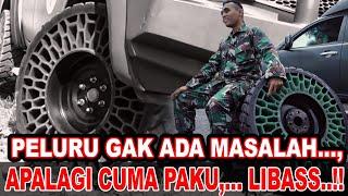Download lagu Rasakan Sensasi Ban Tanpa Udara | Gebrakan TNI AD dalam Teknologi Alutsista Part 3