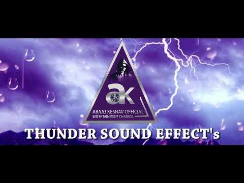 Thunder Sound effect | AK | Araaj Keshav Official